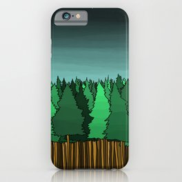 Forrest Under the Stars iPhone Case