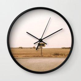 road 92 Wall Clock
