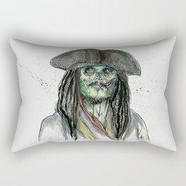 Captain Jack Zombie Rectangular Pillow