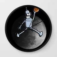 bender Wall Clocks featuring The Last Air Bender by Wuvwa