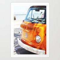 hippie Art Prints featuring Hippie by Catherine Coons Photography