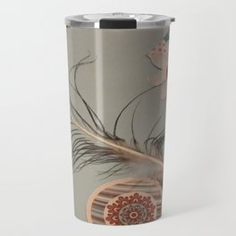 Feathered picture Travel Mug