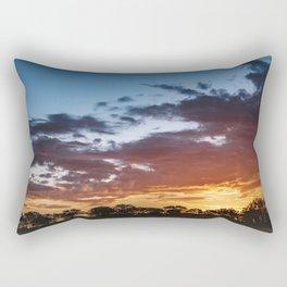 Outback Sunset in Uluru, Australia Rectangular Pillow