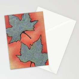 Autumn 2013 Drawing Meditation - color Stationery Cards
