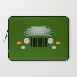 green jeep Laptop Sleeve