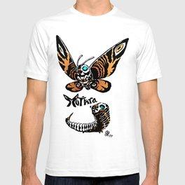 Mothra Kaiju Print T-shirt