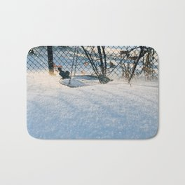 Snow and wind Bath Mat