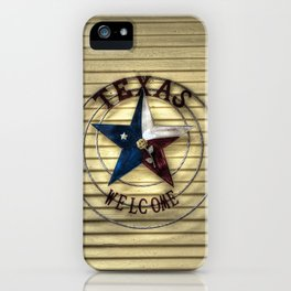 Texas Welcome iPhone Case