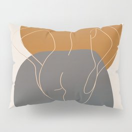 Line Female Figure 82 Pillow Sham
