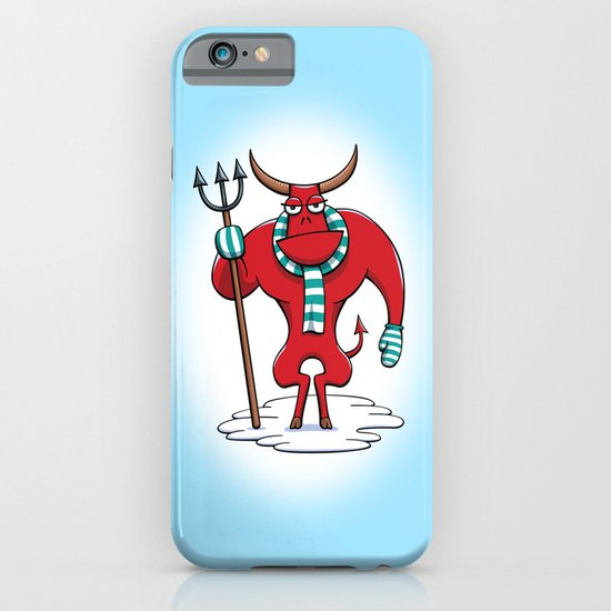 Cold Day in Hell iPhone & iPod Case