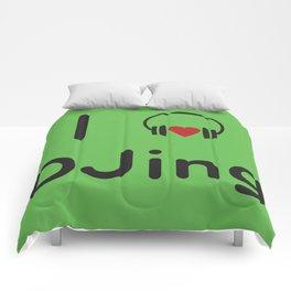 I heart DJing Comforters