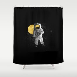 Moon Traveller Shower Curtain