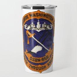 USS GEORGE WASHINGTON CARVER (SSBN-656) PATCH Travel Mug