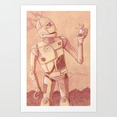 Roger Robot Art Print