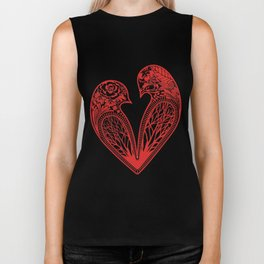 Love Birds Biker Tank