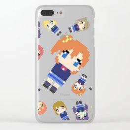 Pixel Honoka Clear iPhone Case