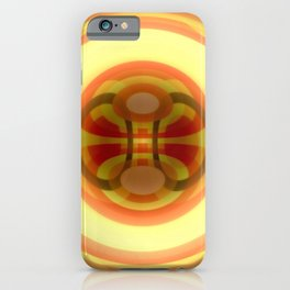 Spacetime path iPhone Case