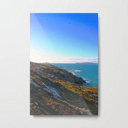 Collapse Into The Sea Metal Print