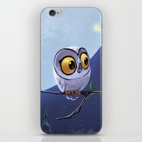owls iPhone & iPod Skins featuring Owls by biboun