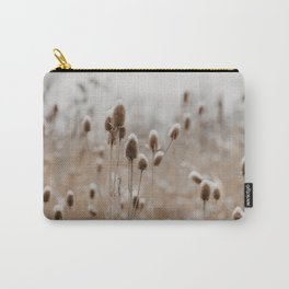 The Wintry Meadow Carry-All Pouch