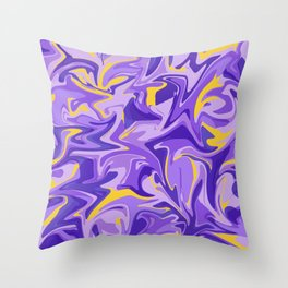 Mod Marble Throw Pillow