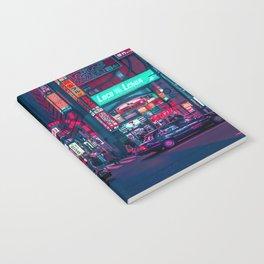 Cyberpunk Tokyo Street Notebook