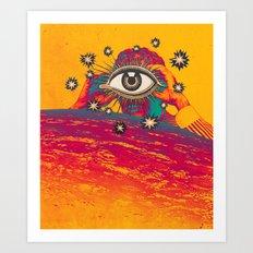 ...TUNE IN... Art Print