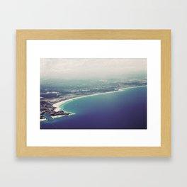 Gold Coast Framed Art Print