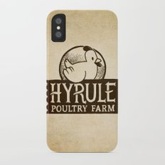 Hyrule Poultry Farms Slim Case iPhone X