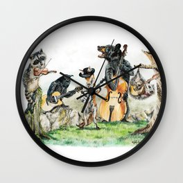 Bluegrass Gang Wall Clock