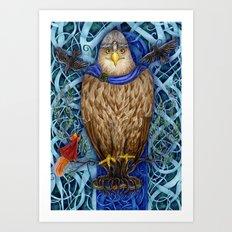 Dwellers of Yggdrasil Art Print