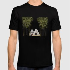 Tipis Black Mens Fitted Tee MEDIUM