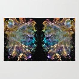 Colorful Cosmos Rug