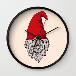 Garden Gnome Wall Clock