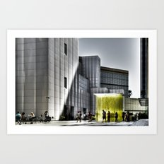 LACMA - Los Angeles County Museum of Art Art Print