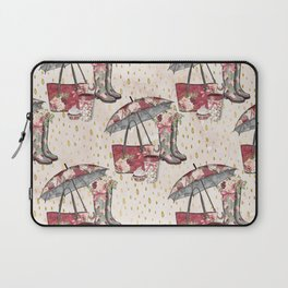Autumn & Umbrella 5 Laptop Sleeve