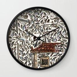 Puff Wall Clock