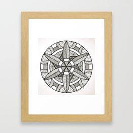 Mandala - Gamma Framed Art Print