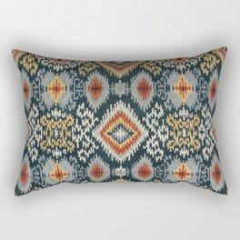Village Ikat Rectangular Pillow