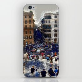 The Spanish Steps 4138 - Rome, Italy iPhone Skin