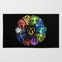 Magic the Gathering - Faded Guild Wheel Rug