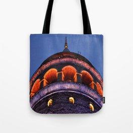 The Glory of Galata Tote Bag
