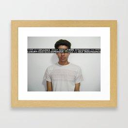 Blinded. Framed Art Print