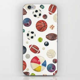 Sports fever iPhone Skin