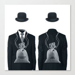 THE TWO BAGS Canvas Print