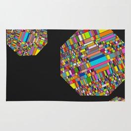 Pixelated Octagons Rug