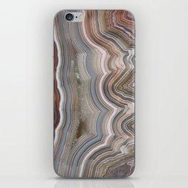 Striped Agate Crystal iPhone Skin