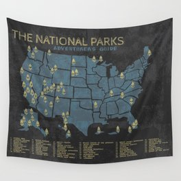 The National Parks: Adventurer's Guide Wall Tapestry