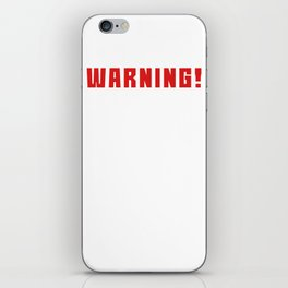 This is the best and funniest tee shirt that's perfect for you Caffeine & Ideas iPhone Skin