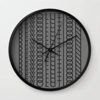 revolution Wall Clocks featuring Revolution by Capital Knight